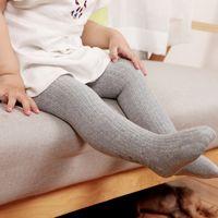 Wholesale White Fashion Pantyhose - Fashion Infant Baby Girls Tights Toddler Kids Tights Pantyhose Autumn Winter Baby Girl Stockings Girl Pants