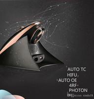Wholesale Mini Rf Skin - Portable Hifu Machine With RF LED Light Therapy For Face Lift Hifu Home Use Skin Tightening Mini Hifu