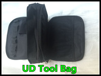 Wholesale Double Shoulder Strap - New Youde UD tool kit bag vapor Pocket clone Double-deck Vapor bag vape carry bag with Shoulder Strap UD Bag free shipping