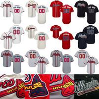 Wholesale Custom Lan - Atlanta Braves Jersey 36 Aaron Blair 38 Arodys Vizcaino 40 Bartolo Colon 45 Matt Wisler 46 Lan Krol Custom Baseball Jerseys