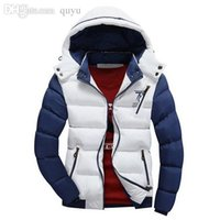 Wholesale Duck Down Feather Jacket - 2016 Hot Sale Winter Mens Warm Down Jacket High Quality Thick Plus Size XXL Warm Winter Cotton-padded clothes Fashion Outdoor Free shipping