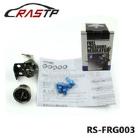 Wholesale Adjustable Pressure Regulator - RASTP-Universal JDM Style High-professional Adjustable Tome Fuel Pressure Regulator With Gauge And Instructions Have In Stock RS-FRG003