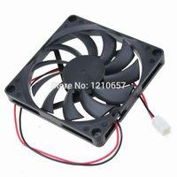 Wholesale aluminum copper connectors for sale - Pieces Gdstime mm x80x10mm cm DC V Connector Brushless Cooling Fan