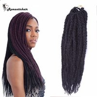Wholesale Brazilian Hair Clearance - Clearance!!African Braids 100g pack 3pcs Box Crochet Braids Hair African braids Bundles extensions waves Hot sale free shipping