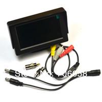 monitores de prueba de cámara al por mayor-Al por mayor-4.3 pulgadas TFT LCD MONITOR COLOR Seguridad CCTV Vigilancia CÁMARA PRUEBA CCTV TEST