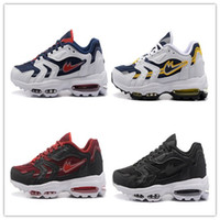 Wholesale Max Discount - 2017 High Quality Running Shoes Men Maxes Cushion 96 OG Sneakers Boots Authentic 96s New Walking Discount Sports Shoes Size Eur 36-46