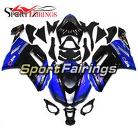 Blue Black New Injection Fairings Para Kawasaki 636 ZX-6R ZX6R 07 08 2007 - 2008 Sportbike ABS Motorcycle Fairing Kit Body