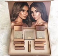 Wholesale Doc Girl - New Brand Dose of colors Desi X Katy Set THE GIRLS eyeshadow palette DOC LIMITED Collection 4color Dose eye shadow highlighter MAKEUP SET