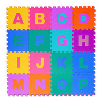 Wholesale-1 Pcs Criativo 3D EVA Foam Puzzles Play Floor tapete tapete Baby Rastreamento Mats Game Pad Crianças Early Learning Kids Brinquedos Presentes