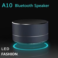 Wholesale Aluminum Phone - 2016 New Fashion Aluminum Wireless Bluetooth Speaker Subwoofer Cylindrical Handsfree Stereo For Phones PC Support FM TF card