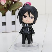 Wholesale Nendoroid Sebastian - Nendoroid Cute Black Butler figure Sebastian Michaelis Action Figure good collection model approx 10cm