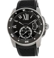 5123144ffbf Venda quente AAA Mergulhador de Qualidade Superior W7100056 Auto 42mm aço  Inoxidável Mens Strap Watch Data Relógios de Pulso Esporte dos homens Banda  de ...