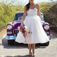 Dropshipping Short Bridal Dresses Tulle Peplum Uk Free Uk