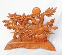 spirit careers - Hollow carved mahogany decoration crafts Wang Kaiyun disc vigorous spirit of the aged Home Furnishing career transfer wealth accessories