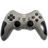 drahtloser steuergerät großhandel-Double Shock Wireless Gamepad Controller Joystick Controller Joypad Für PS2 PS3 PC Playstation Game Pad Control BCG11G-P57