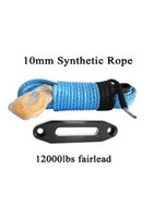 """Wholesale Boat Winches - Wholesale-Blue 3 8""""*100ft Synthetic Rope with One Fairlead ,Boat Winch Rope for Winch Accessary,Winch Cable"""