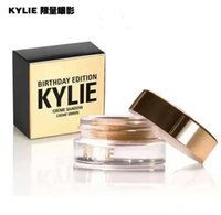 Wholesale Perfect Powder - in stock 50pcs Kylie Jenner Birthday Editon Kylie Cosmetics Creme Shadow Copper  Rose Gold Creme OMBRE perfect