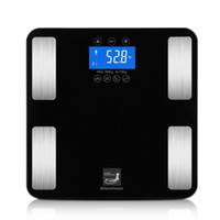 Wholesale Digital Bathroom Body Fat Scale - Smart Touch Weight Measure 400 lb 0.1kg Digital Scales Track Body Weight,BMI,Fat,Water,Calories,Muscle,Bone Mass Bathroom Scales