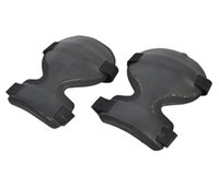 Wholesale Knee Padded Sports Pants - 1 set Protective Knee Pads Set Pants Pad Set Protective Universal Outdoor Airsoft Tactical Paintball Tactical Sport