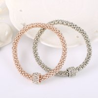 Wholesale Pandora Gold Flower - Wholesale 18K Rose Gold Bracelet for Pandora