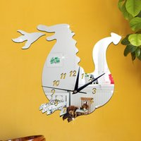 Cheap Removable Wall Stickers Best PVC Firedragon Mirror Wall Stickers