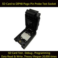 Wholesale Electrical Card - SD Card to DIP48 Test Socket Clamshell IC Test Socket Burn in Socket SD Chip Test Socket