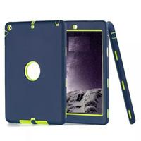 silikonabdeckung für ipad großhandel-Für iPad Fallverteidiger stoßsicheres Roboter-Kastenmilitär Extreme Hochleistungssilikonabdeckung für ipad 2 3 4 5 6 Luftmini 4 DHL geben Verschiffen frei
