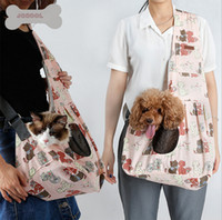 Pet Hands-Free Реверсивная маленькая собачка Cat Sling Carrier Bag Travel Tote Мягкая удобная щенка Kitty Rabbit Pouch Shoulder Carry Tote Handbag