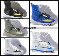 Wholesale Kd High Top Shoes - Kevin Durant KD 8 X Elite Home White On Court Black Gold Wolf Grey Men Basketball Shoes Sneakers High Top KD8 KDS Sports Shoes Boost 7 -12