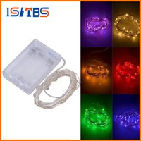 Wholesale Diy Home Decoration Cartoon - 3M 30LEDs AA Battery Operated Led String Mini LED Copper Wire String Fairy Light Christmas Xmas Home Party Decoration Light Warm Pure White