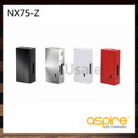 Wholesale Alloy Profile - Aspire NX75-Z Mod TC 75W Box Mod Child Lock New Customizable Firing Button Profiles (CFBP) Function Zinc-Alloy 100% Original