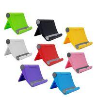 suporte de mesa para celular venda por atacado-Suporte do telefone de mesa para iphone universal suporte do telefone móvel suporte de mesa flexível suporte para samsung ipad tablet pc