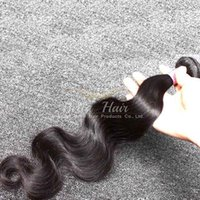 Cheap Brazilian Hair Weaves Hair Extensions Natural Color 3PC / lot 7A Body Wave Double trame Virgin Hair 8-30 pouces Bellahair