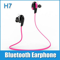 Wholesale H7 Mini - Promotion products bluetooth H7 MP3 earphone 4.0 micro mini headset wireless universal headphone for mobile phone