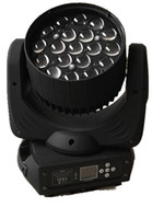 Wholesale Led Zoom Rgbw - DJ Lighting Zoom 8-50 degrees 19X12W RGBW 4in1 LED Moving Head Zoom Beam Wash Light