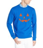 Wholesale Pumpkins Jack O Lanterns - 2016 men fleece hoodies JACK O' LANTERN PUMPKIN Halloween funny streetwear brand tracksuits male harjuku hip-hop kpop sweatshirt