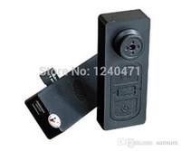 Wholesale Button Cam Hd - 1pcs mini camera NEW Mini spy button camera Hidden DV Camera Button Video PC Spy DVR Voice Recorder HD DVR Cam 720*480