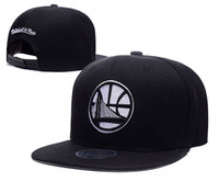 New Caps 2016 Basketball-Snapback Caps Gold Land Schwarz Farbe MN Kappen Mix Match, um alle Caps auf Lager Top-Qualität Hat
