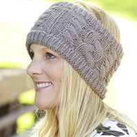 Wholesale Knit Braided Headband - Knit Headband, Cable Braided Earwarmer, Crochet Head Wrap, Choose your color Womens Headwrap, Wide Knit Head Band, Winter Ear Cover