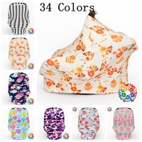 Wholesale Strollers Baby Seats - Baby Car Seat Canopy Ins Stroller Cover Shopping Cart Cover Breastfeed Nursing Covers Sleep Pushchair Case Travel Bag By Cover OOA2749