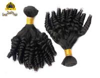Wholesale Spanish Weave Human Hair - Free Shipping Top Quality 8A Human Hair Weave Spanish Curly Hair Weft Brazilian Hair Bundles Peruvian Malaysian Indian Hair