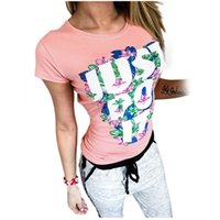 Wholesale korean fashion women shirts - Wholesale-2016 women korean fashion roupa feminina tee shirt femme clothes female tshirt tumblr poleras camisetas mujer just do it t-shirt