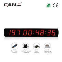 часы календарного дня оптовых-[GANXIN] 4-дюймовый 9-значный большой закрытый светодиодный дисплей Цифровой календарный день с обратным отсчетом с 999-дневными таймерными настенными часами с дистанционным управлением