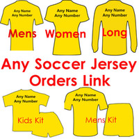 Wholesale Women Yellow Pants - Thai quality 16 17 Jersey 2016 Every Shirts Woman Shirts Sets Jackets Sweater Kids Long pants Tracksuit 2017 Sets