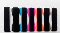 рукоятка пальца оптовых-Finger Grip Phone Держатель Сотового Телефона Ручка назад Стикер эластичный пояс одной рукой Держатель Мобильный эшафот Для iPhone Samsung HTC