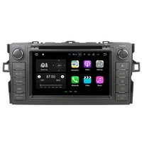 "Wholesale Android Toyota Corolla - 7"" Android 7.1 System Car DVD Recorder For Toyota Auris Hatchback Corolla WIFI 4G OBD DVR 4K Video Mirror Screen 2G RAM 16G ROM"