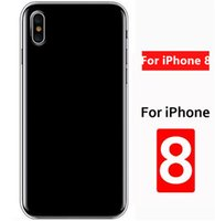 Wholesale blank cell phone cases for sale – best For iphoneX plus s Clear Soft TPU Case Transparent Crystal Cover Silicone gel Blank Skin Cell phone Luxury Shell anti shock TPU Case