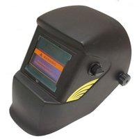 Wholesale Auto Darkening Electric Welding Mask - Hitbox welding helmet Stepless adjust Solar Auto darkening TIG MIG MAG MMA welding helmets face mask Electric welding mask