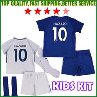 Womens Diego Costa Bright Soccer Short Polyester 17 18 Kids Chelsea Home  Blue Soccer Jersey Kits PEDRO FABREGAS HAZARD DIEGO New 2017 2018 ... ad822be5d
