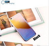 IP6 Casos de telefone móvel Creative IP6 Mobile Phone Set Plus Blue Light Transparente IP7 All Inclusive Hard Cases